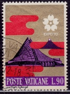 Vatican City, 1970, Expo, Christian Pavilion, 90L, Sc#482, Used - Used Stamps