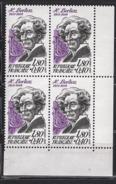 FRANCE  1983 - BLOC DE 4 TP Y.T. N° 2281 - COIN DE FEUILLE NEUFS** /X55 - Francia