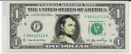 Napoléon Sur Un Véritable Dollar Américain - United States Of America