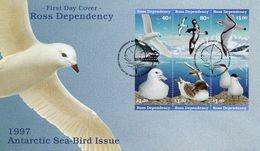 NEW ZEALAND  ROSS DEPENDENCY -   1997 Sea Birds  FDC1181 - FDC