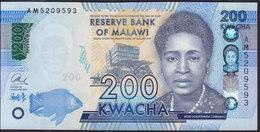Malawi 200 Kwacha 2016 Pnew UNC - Malawi