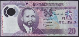 Mozambique 20 Meticais 2017 Pnew UNC - Mozambique