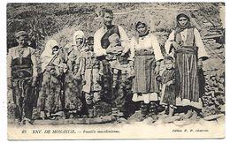 MACEDOINE - Famille Macédonienne - Macédoine