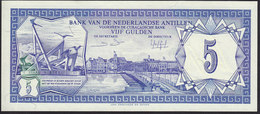 Netherlands Antilles 5 Gulden 1984 P15 UNC - Nederlandse Antillen (...-1986)
