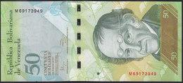 Venezuela 50 Bolivares 2011 P92 UNC - Venezuela
