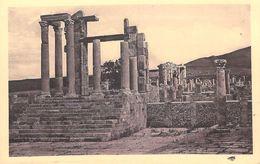 Afrique ALGERIE Wilaya De Sétif)  DJEMILA Temple Des Tellus  (cité Antique) Cpa Editions SPTGA 14 / 49 *PRIX FIXE - Sétif