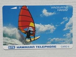 Windsurfing. MINT. - Hawaii