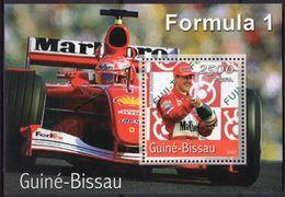 GUINÉ BISSAU 2001 - Voitures De Sport F1, Ferrari, Schumacher - BF Neufs // Mnh - Guinée-Bissau