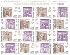 España/Spain-(MNH/**) - Edifil  MP 3520-23 - Yvert  3095-98 X4 - Blocs & Hojas