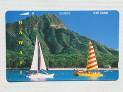 2 Sailboats. MINT. 10 Units. - Hawaii