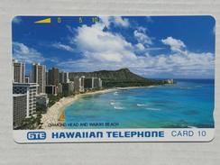 Diamond Head And Waikiki Beach. MINT. Silver Reverse. - Hawaii