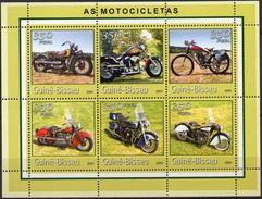 GUINÉ BISSAU 2001 - Motocyclettes - 6 Val Neufs // Mnh - Guinée-Bissau