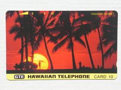Hawaiian Sunset . MINT. - Hawaii