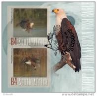 South Africa - 2013 Flight Of The Fish Eagle MS (o) - Afrique Du Sud (1961-...)