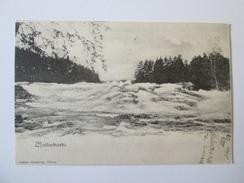 Rare! Finland-Wallinkoski Used Postcard From 1905 - Finland