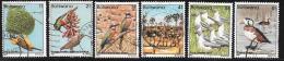 Botswana, Scott # 303-12 Used Birds, 1982 - Botswana (1966-...)