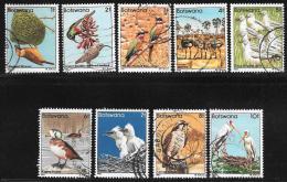 Botswana, Scott # 303-11 Used Birds, 1982 - Botswana (1966-...)