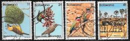 Botswana, Scott # 303-6 Used Birds, 1982 - Botswana (1966-...)