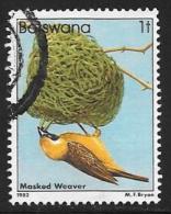 Botswana, Scott # 303 Used Bird, 1982 - Botswana (1966-...)