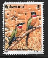 Botswana, Scott # 305 Used Bird, 1982, Round Corner - Botswana (1966-...)