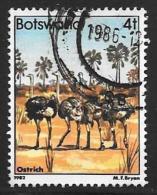 Botswana, Scott # 306 Used Birds, 1982 - Botswana (1966-...)