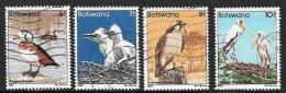 Botswana, Scott # 308-11 Used Birds, 1982 - Botswana (1966-...)