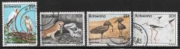 Botswana, Scott # 311,313-5 Used Birds, 1982 - Botswana (1966-...)