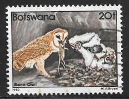 Botswana, Scott # 313 Used Birds, 1982 - Botswana (1966-...)