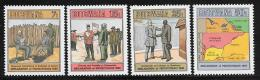 Botswana, Scott # 376-9 MNH Declaration Of Protectorate, 1985 - Botswana (1966-...)