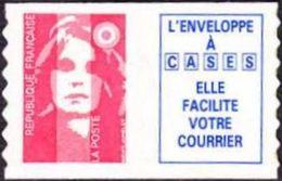 Autoadhésif(s) De France N°    7,b ** Ou 2874_b  - Marianne Du 14 Juillet Briat TVP Rouge - Dentelure Verticale Ondulée - Frankreich