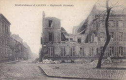 Ph-CPA Amiens (Somme) Bombardement D'Amiens Esplanade Beauvais - Amiens