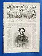 Nuovo Giornale Illustrato - Conte Giulio Andrassy - Anno II - N° 38 - 1869 - Books, Magazines, Comics