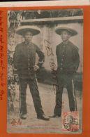 TONKIN  COCHINCHINE SAÏGON  Agents De Police Indigènes    Nov 2017 1267 - Viêt-Nam