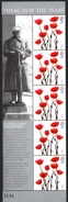 """GREAT BRITAIN 2006 """"We Will Remember Them"""": Strip Of 5 Stamps (ex """"Smilers"""" Sheet) UM/MNH - Nuovi"""