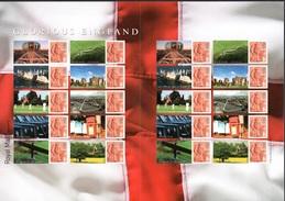 "GREAT BRITAIN 2007 LS38 Glorious England ""Smilers"" Sheet UM/MNH - Gran Bretagna"