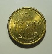 Turkey 5000 Lira 1997 - Turchia