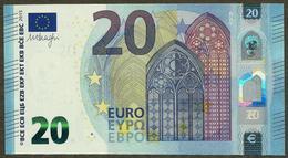 France - 20 Euro - U019 A1 - UA0489134568 - Draghi - UNC - EURO