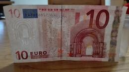 10 Euro Mario Draghi - X81578656541, E008D1 - 10 Euro