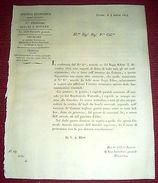 Regno Sardegna Savoia Torino Circolare Atti Per La Vendita Dei Boschi 1824 - Vecchi Documenti