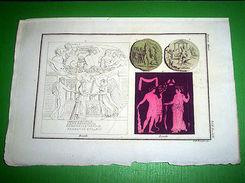 Stampa Incisione Storia E Mitologia - ERCOLE ( Incisore Bonatti ) 1700 - Prints & Engravings