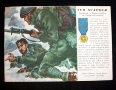 WWII Cartolina - Medaglie D' Oro Guerra 1940 - Scapolo - Militari
