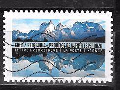 FRANCE Adhesif Oblit Tourisme Durable 1371 CHILI - Adhesive Stamps