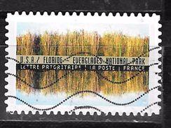 FRANCE Adhesif Oblit Tourisme Durable 1370 ETATS UNIS - Adhesive Stamps