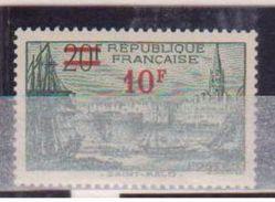 FRANCE      N° YVERT  :    492      NEUF AVEC  CHARNIERES - Unused Stamps