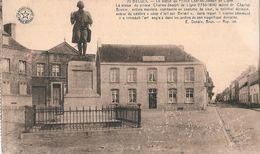 BELOEIL   -    BELGIQUE   -  La  Statue  Du  Prince  Charles-Joseph  De  Ligne ( 1735-1814 ) - Beloeil