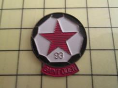 Pin1214c Pin's Pins / Beau Et Rare : SPORTS / FOOTBALL CLUB ST OUEN RED STAR 93 - Football