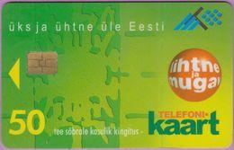 Télécarte Estonie °° Nc - Lihtne Ja Mugav - 50 Kr - 1996 - Estonie