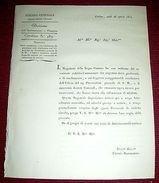 Regno Sardegna Torino Circolare Dritti Giudiziari Coltivazione Miniere 1824 - Vecchi Documenti