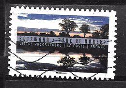 FRANCE Adhesif Oblit Tourisme Durable 1365 BOTSWANA - Adhesive Stamps