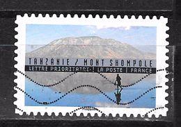 FRANCE Adhesif Oblit Tourisme Durable 1364 TANZANIE - Adhesive Stamps